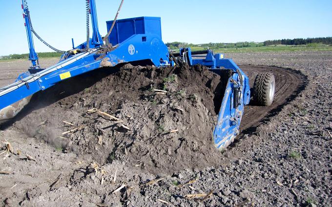 Iversens markservice med Jordflytning/Scraping ved Vadum