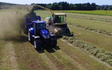 Wilson contractors with Forage harvester at United Kingdom