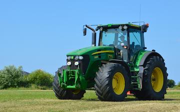 Hedegård markservice med Traktor 201-300 hk ved Ribe