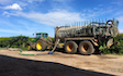 T&b agricultural contractors ltd with Slurry spreader/injector at United Kingdom