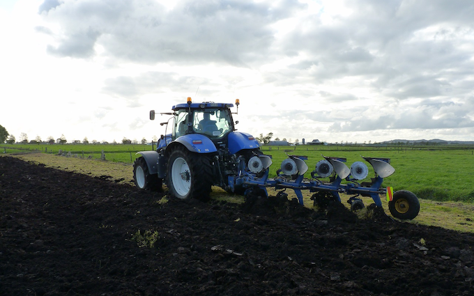 Jackson contracting  with Plough at Tauhei