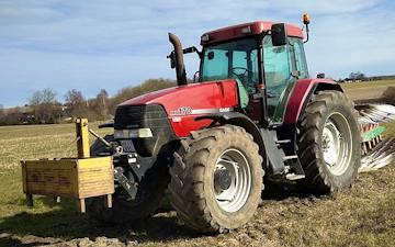 Thorsmark agro a/s med Traktor 101-200 hk ved Randers