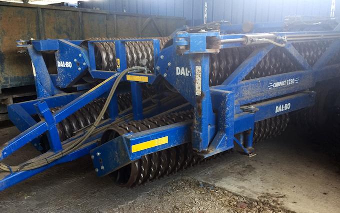 Rookery farm ltd  with Rolls/presses at Wortham