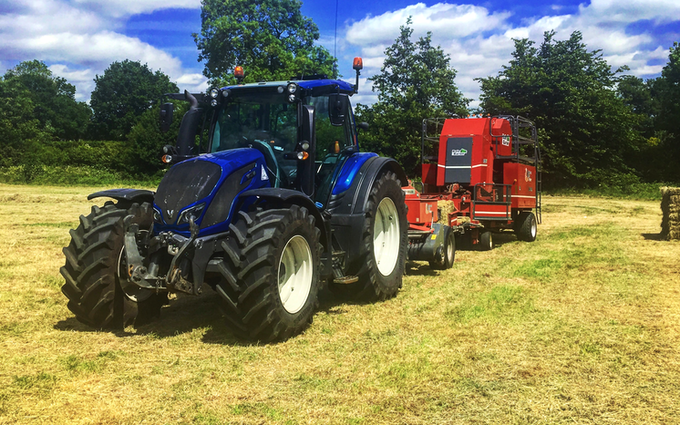 Pg groundcare ltd with Tractor 100-200 hp at Hollybank