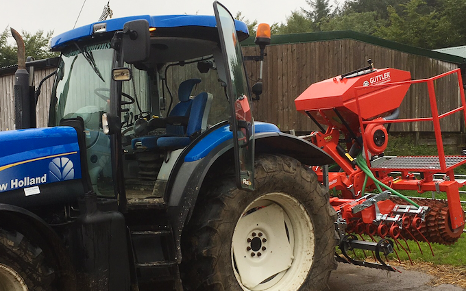 Stw farm services  with Drill at Rackenford