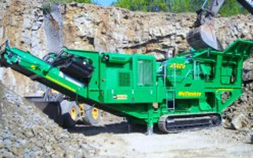 A r richards  with Stone crusher at United Kingdom