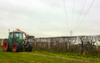 Marshall agri contracts  with Hedge cutter at Parkgate