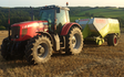 Chris bowden contractors   with Large square baler at Lanivet