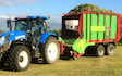 Zac bessell agricultural services with Self loading wagon at United Kingdom