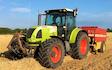 A j robinson grassland subsoiling with Tractor 201-300 hp at Llanddewi Velfrey