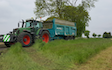 Stuart m ranby agriculture  with Silage/grain trailer at Saundby