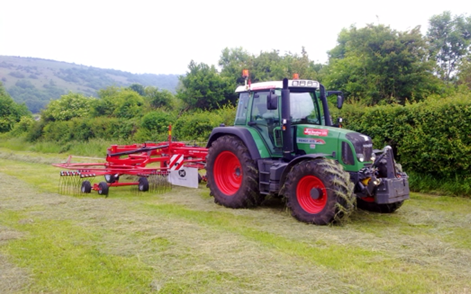 Jon sealey & sons ltd  with Rake at Tarnock