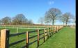 Dan burton eggriculture  with Fencing at United Kingdom