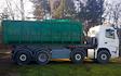 Dh transport  med Container ved Hovedgård
