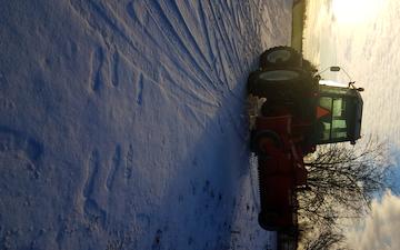 Nb  med Traktor 101-200 hk ved Ishøj