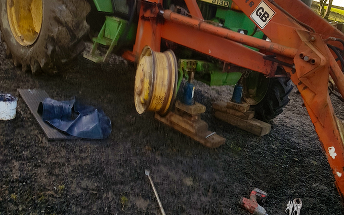 Pete gilmour agricultural tyre repair  with Service/repair at Mytton View