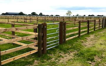 Metcalfe fencing & land services with Fencing at Galphay