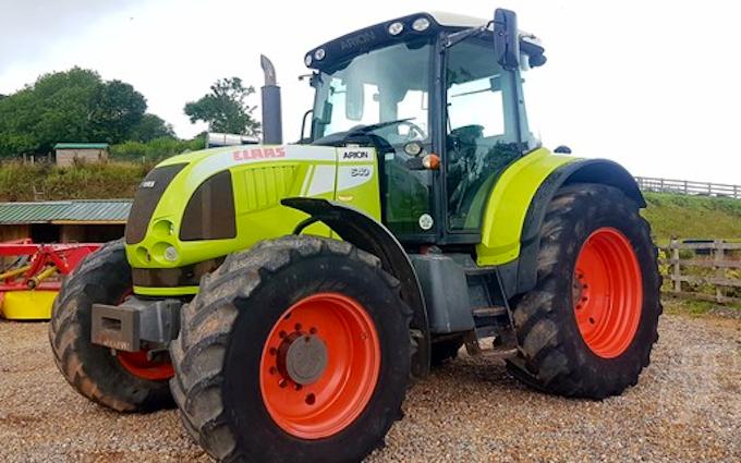 Lf ballard  with Tractor 100-200 hp at Brinkworth
