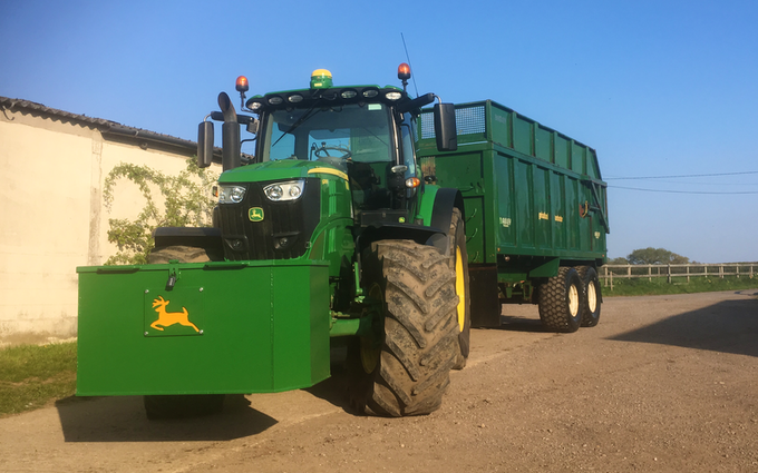 Oxfordshire's agricultural services with Tractor 100-200 hp at Boars Hill