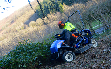 Mid wales mechanical with Mower at Princes Avenue