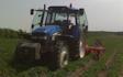 Hjortlund landbrug & maskinstation med Kartoffelhypper ved Grindsted