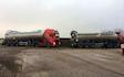 Agro handel og transport aps med Trailer ved Tinglev