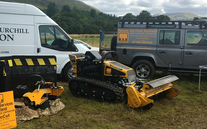 Remote services scotland with Mulcher at Saint Andrews