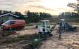 Fkl - freelancer kristian larsen med Minigraver ved Spøttrup