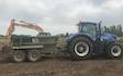 Ams contracting ltd with Excavator at Birdham
