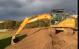 M m services with Excavator at Titchfield Road