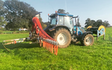 J gould agricultural contractor with Slurry spreader/injector at Ipstones