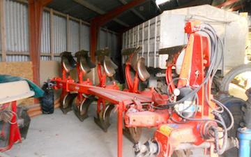Mejnert landbrug i/s med Plov ved Svebølle
