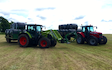 Tovey agri contracting  with Tractor 100-200 hp at West Harptree