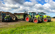 A&s eggleston with Manure/waste spreader at United Kingdom