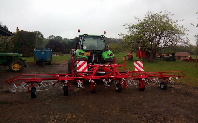 Belsham farming with Tedder at United Kingdom