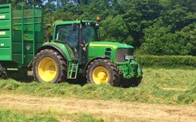 Ehj contracting  with Tractor 100-200 hp at United Kingdom