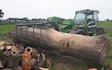 Loggin with Log splitter at Nuneaton