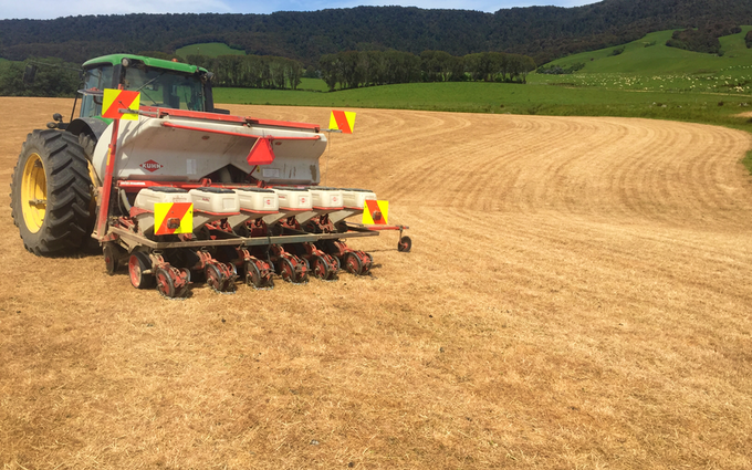 S & a marshall contracting ltd with Precision drill at Waikawa Valley