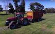 Grain & food limited with Self loading wagon at Gordonton
