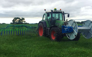 Oaks barn farm services  with Slurry spreader/injector at United Kingdom