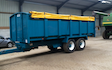 Smith agri with Silage/grain trailer at Edmondsley