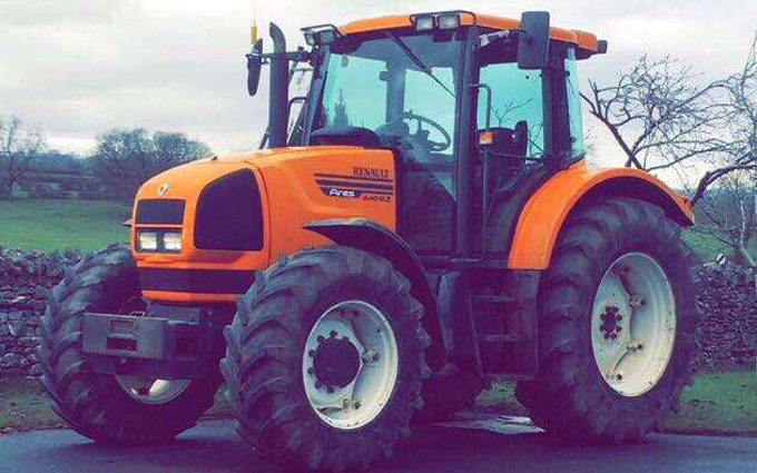 Mj harrison agricultural services with Tractor 100-200 hp at Newby