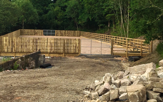 Jack whitaker fencing  with Fencing at Sowerby Bridge