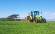 C.scott agri services  with Self-propelled sprayer at Silloth