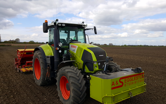 A&s eggleston with Drill at United Kingdom