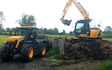 J. steel contracting  with Tractor 201-300 hp at United Kingdom