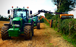 A t contracting with Hedge cutter at United Kingdom