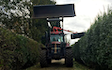 Grassland farm services with Hedge cutter at Greenland Lane