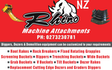 Rhino machine attachments nz with Excavator at Thomsons Crossing