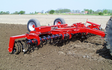 Mckenzie brooker contracting  with Seedbed cultivator at Oxford